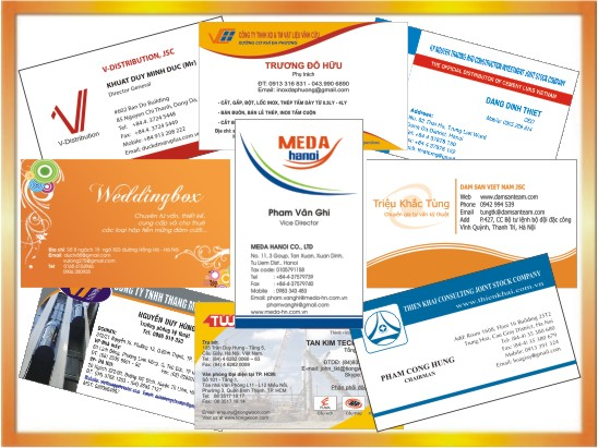 In Card visit - Danh thiếp- Name card | In Thiệp mời giá rẻ | In Nhanh | In Lay Ngay