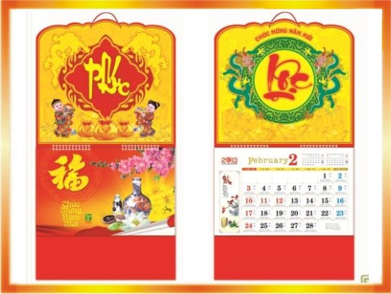 Lịch lò so giữa 2016 | In tem trong, decal trong dán sản phẩm giá rẻ | In Vien dong