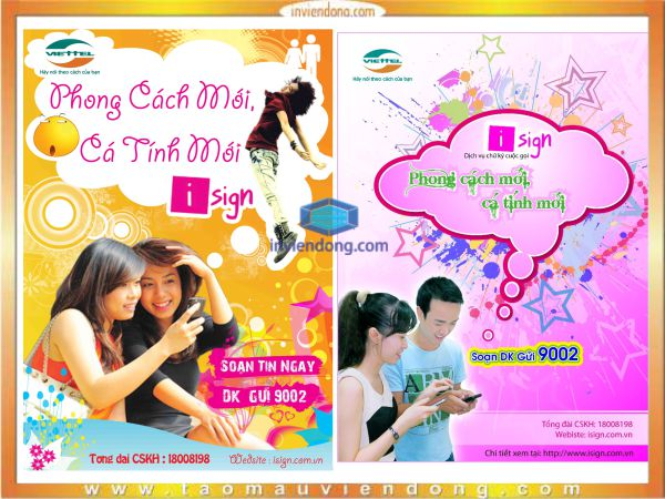 In Poster | In lịch bàn Hà Nội  | In Vien dong