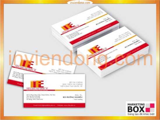 In card visit rẻ đẹp nhất tại Hà Nội -ĐT: 0904242374