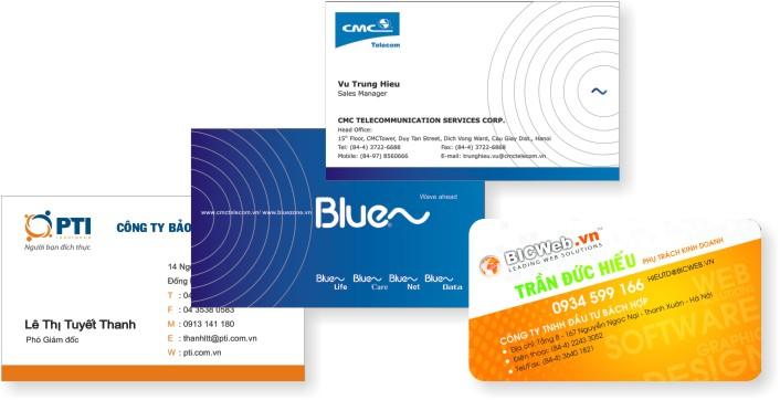 In card visit lấy ngay, thiết kế mẫu card visit đẹp miễn phí