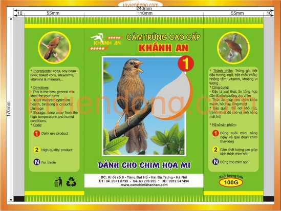 In bao bì sản phẩm nhanh, rẻ đẹp tại Hà Nội -ĐT: 0904242374