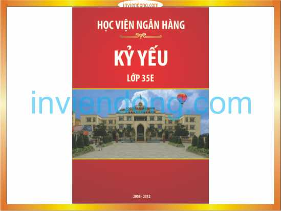 Địa chỉ chuyên thiết kế và in kỷ yếu tại Hà Nội