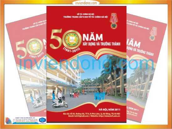 Xưởng chuyên Thiết kế và in kỷ yếu rẻ đẹp tại Hà Nội
