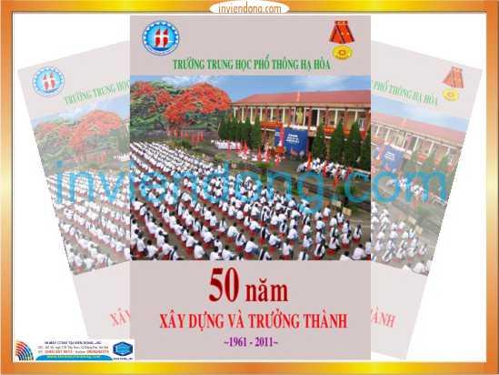 Địa chỉ Xưởng Thiết kế và in kỷ yếu tại Hà Nội