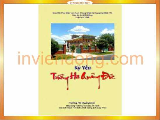Địa chỉ In kỷ yếu giá rẻ tại Hà Nội