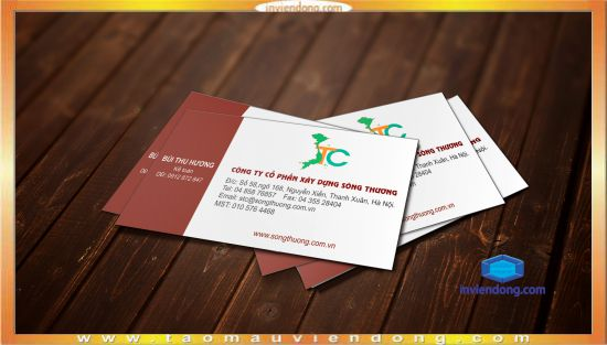 In name card tại Hoàn Kiếm