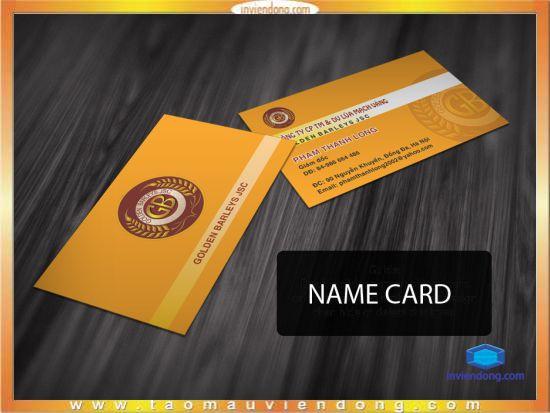 Địa chỉ In card giá rẻ
