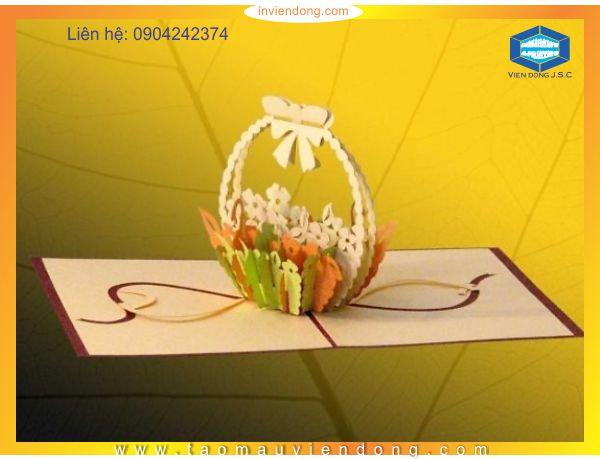 in thiệp 3D mừng ngày quốc tế phụ nữ (8-3)