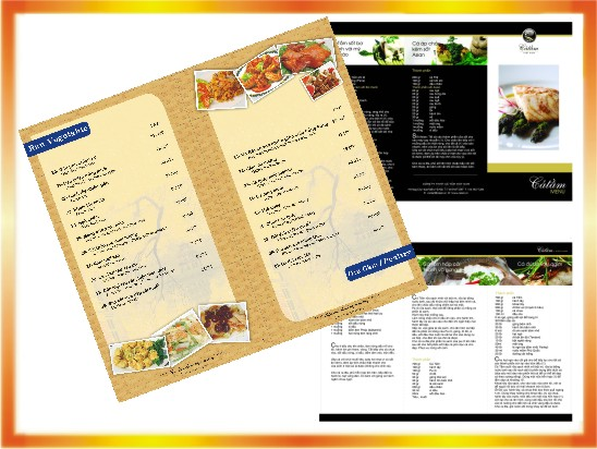 Địa chỉ in Menu giá rẻ tại Hà Nội –ĐT:0904242374
