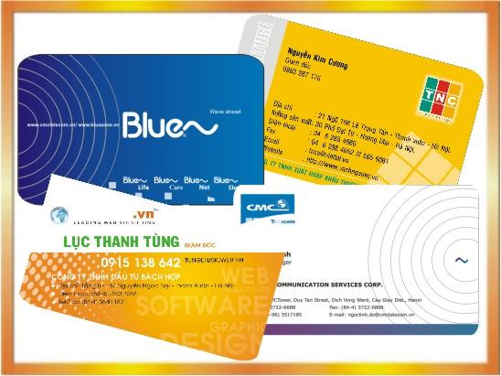 Làm card visit nhanh tại Hà Nội, in card visit lấy ngay, thiết kế mẫu card visit