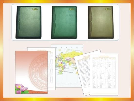 Địa chỉ in sổ bìa da cao cấp tại Hà Nội – ĐT: 0904. 242 374