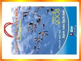 Địa chỉ In túi đựng lịch 2013 tại Hà Nội-ĐT: 0904. 242 374