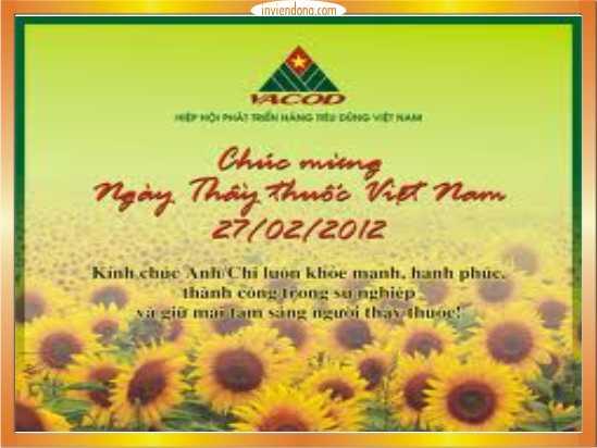 In thiệp chúc mừng ngày thày thuốc Việt Nam rẻ-ĐT:0904242374